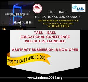 Tasl – Easl Educational Conference – Mechanism and Management of Acute Critical Conditions in Hepatology,